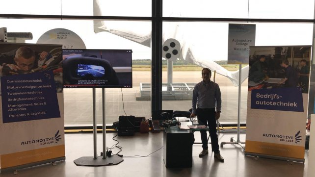 Automotive College aanwezig op 'Science for Humanity' event