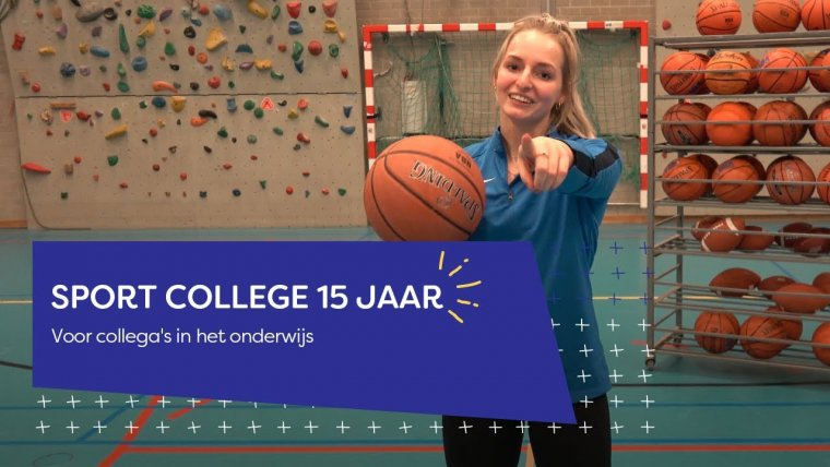 YouTube video - Sport College - 15 jaar!