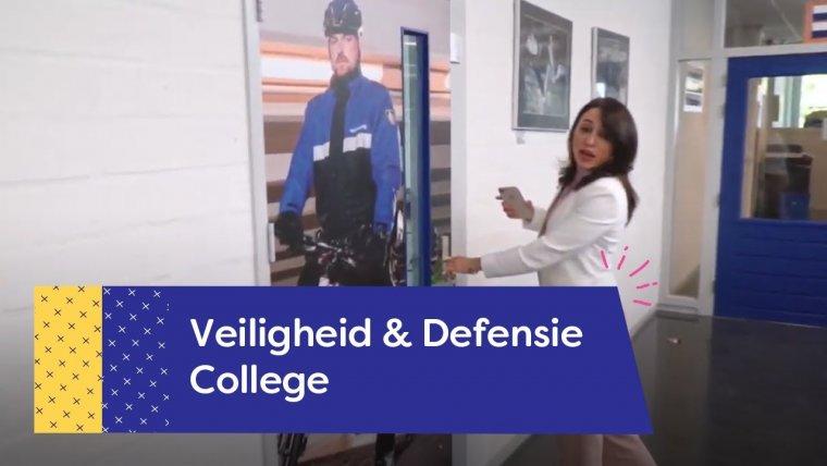 YouTube video - Rondleiding Veiligheid & Defensie College Nieuwegein