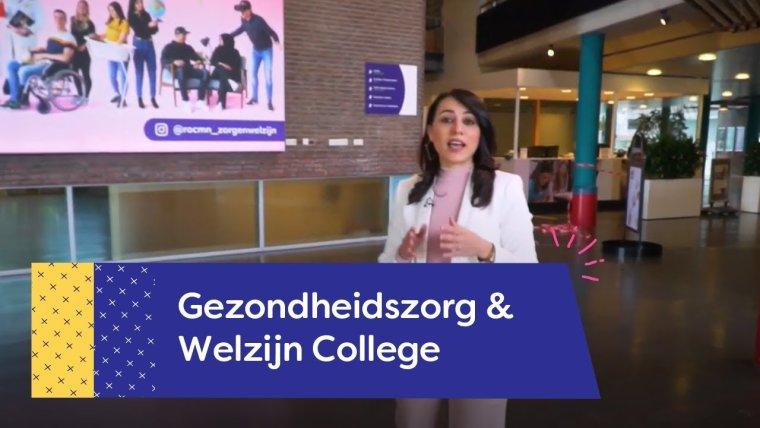 YouTube video - Rondleiding Gezondheidszorg  & Welzijn College Utrecht