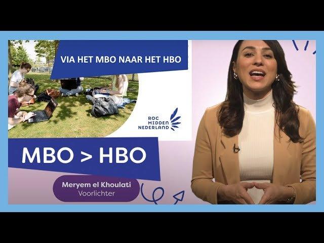YouTube video - Bekijk de presentatie over onze mhbo-opleidingen