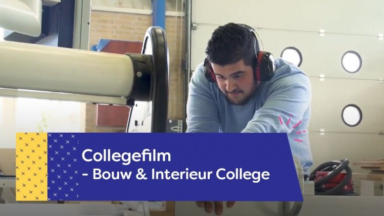 YouTube video - Bouw en Interieur College