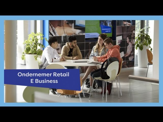 YouTube video - Ondernemer Retail E-Business
