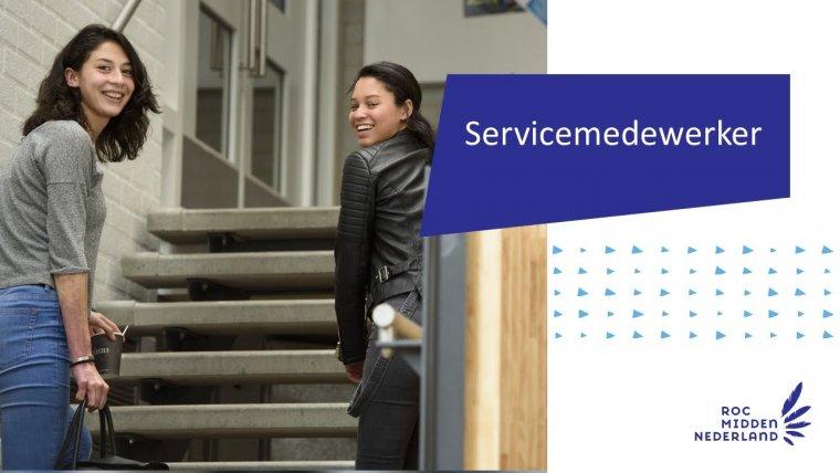 YouTube video - Servicemedewerker Zakelijk & Commercieel, Sport & Evenementen, Zorg & Welzijn, ICT en Facilitair
