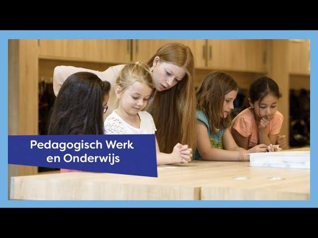 YouTube video - Pedagogisch Werk en Onderwijs Amersfoort