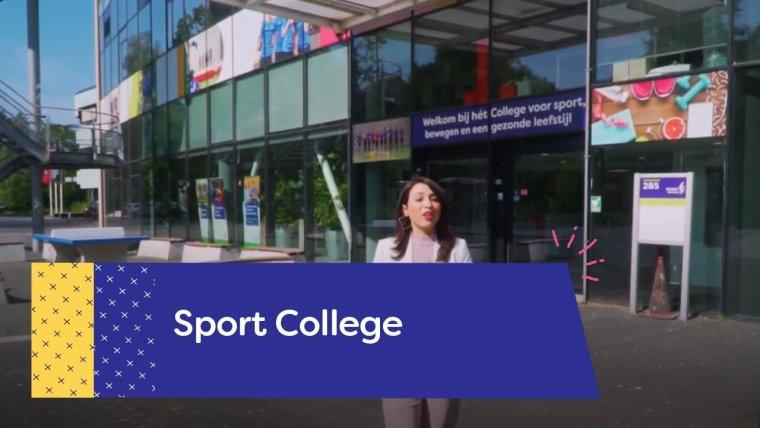 YouTube video - Rondleiding Sport College Utrecht
