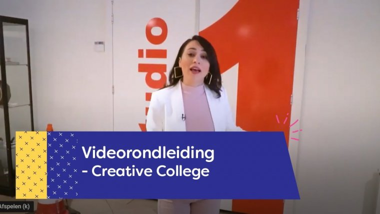 YouTube video - Rondleiding Creative College Utrecht