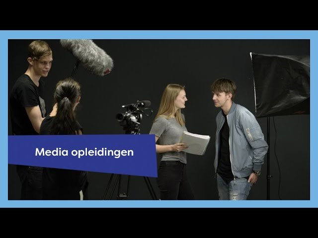 YouTube video - Media-opleidingen