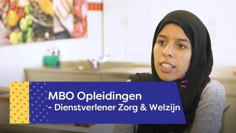 YouTube video - Opleiding Dienstverlener Zorg & Welzijn