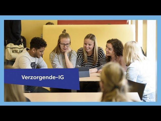 YouTube video - Verzorgende-IG/Maatschappelijke Zorg
