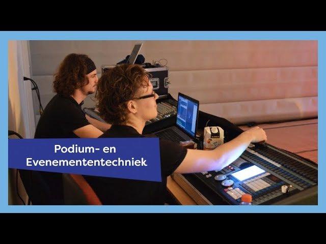 YouTube video - Podium- en Evenemententechniek