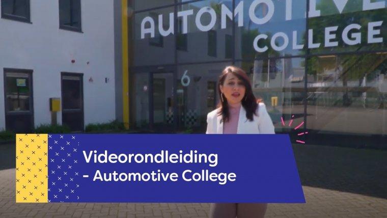 YouTube video - Rondleiding Automotive College Nieuwegein
