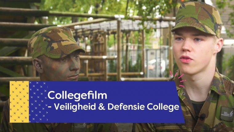 YouTube video - Veiligheid & Defensie College