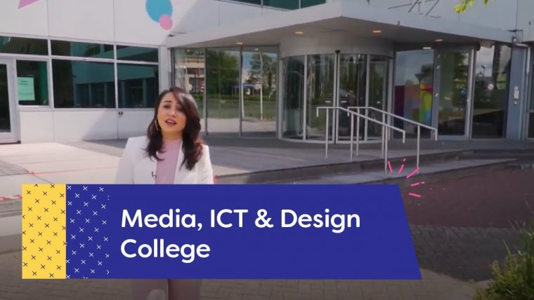 YouTube video - Rondleiding Media, ICT & Design College Amersfoort